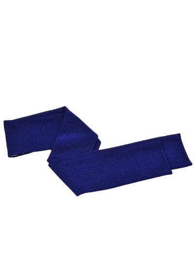 blauwe sjaal