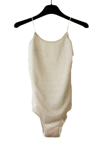 oseree silver bathingsuit