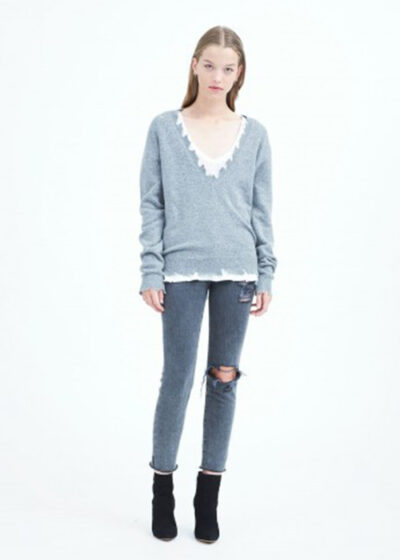 iro cutted sweater