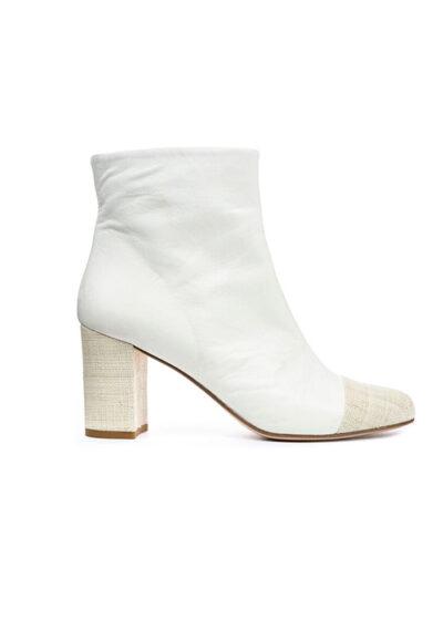 white bootie