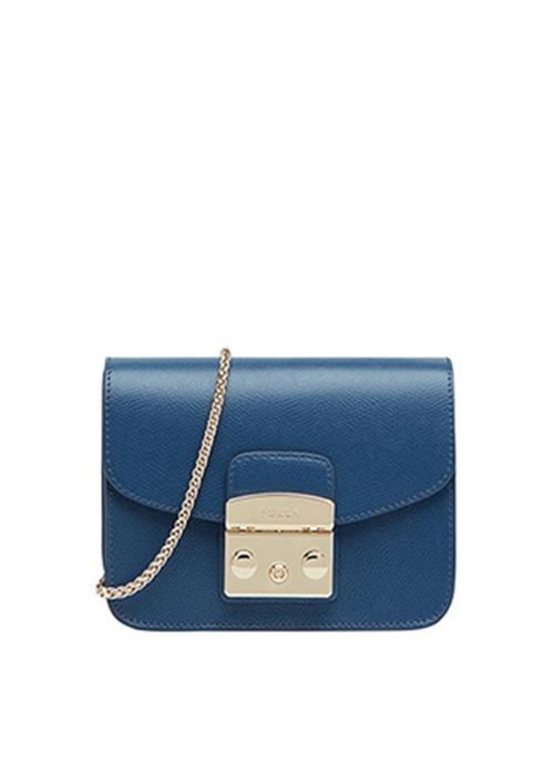 Furla bright blue metropolis bodybag