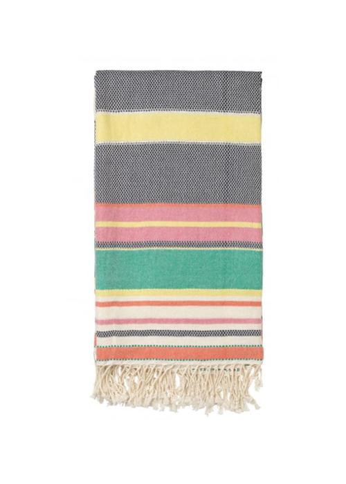 BECKSONDERGAARD MIRAL BLUE TOWEL