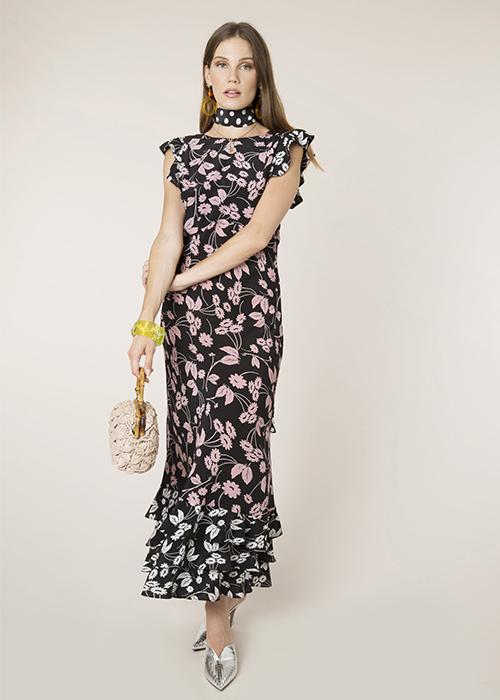 RIXO ISABELLE DRESS