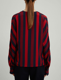 JOSEPH-Leigh-Military-Stripe-Blouse-Navy-Red-jf0019550373-4