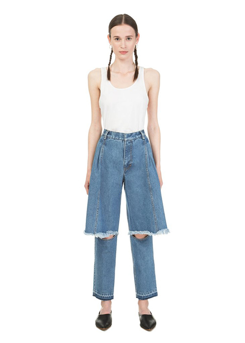 KSENIA SCHNAIDER BLUE PANTS