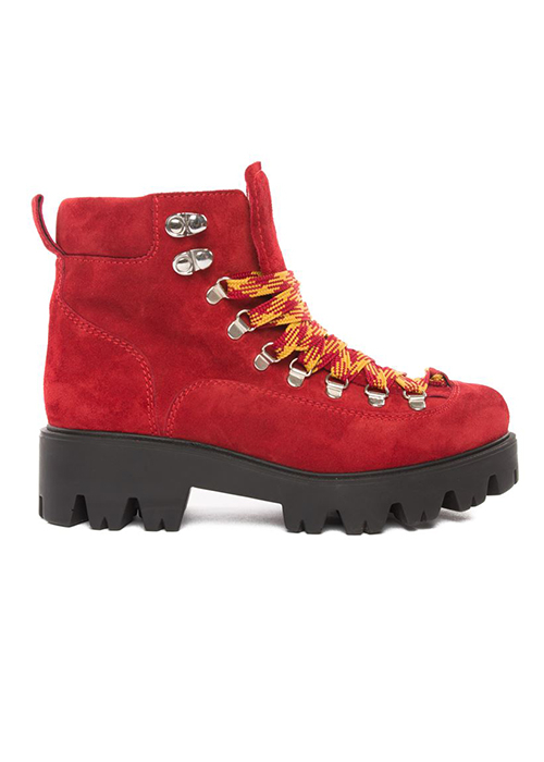 MOROBE MAELYNN RED BOOTS
