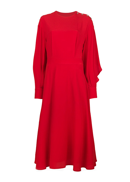 MSGM RED DRESS