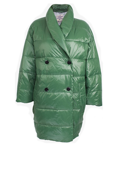 BAUM UND PFERDGARTEN OVERSIZED GREEN COAT