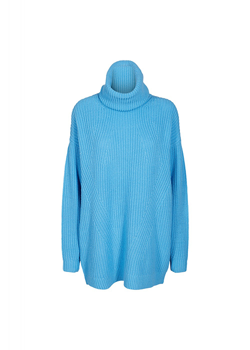 DESIGNERS REMIX BLUE SWEATER