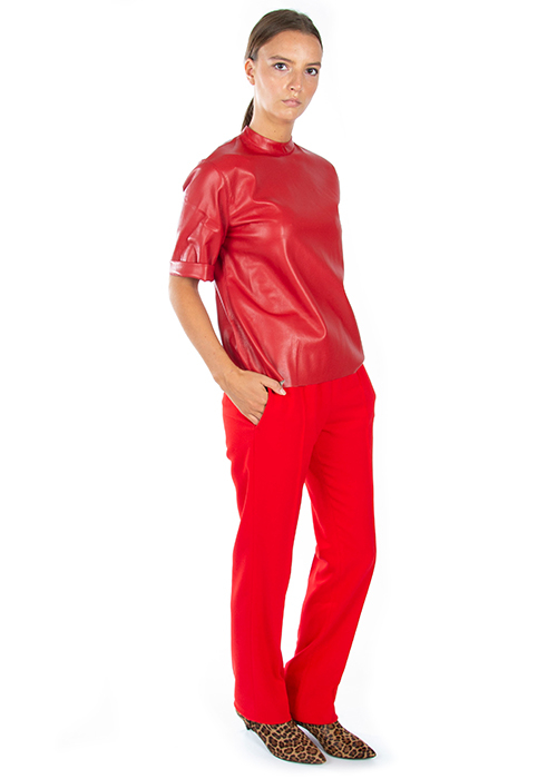 MSGM RED PANTS