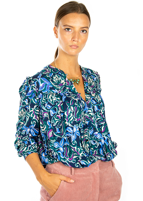 CUSTOMMADE PRINTED BLOUSE