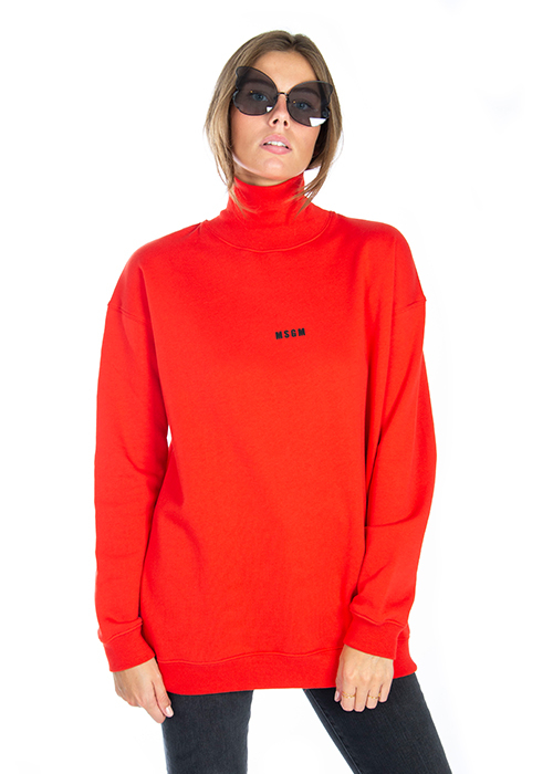 MSGM RED SWEATER