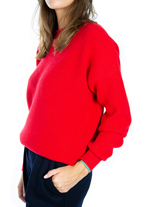 OPPORTUNO RED PULLOVER