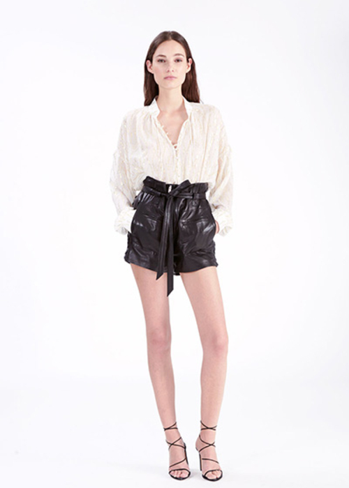 IRO WHITE OVERSIZED BLOUSE