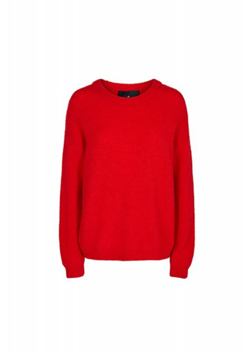 DESIGNERS REMIX RED PULLOVER