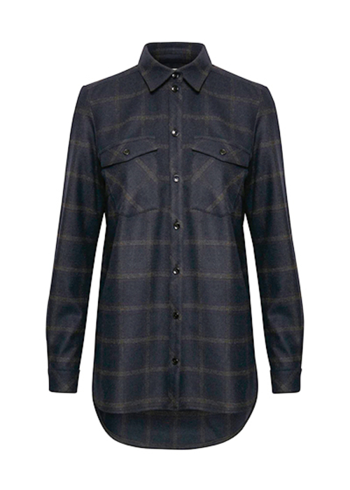 GESTUZ CHECKED SHIRT