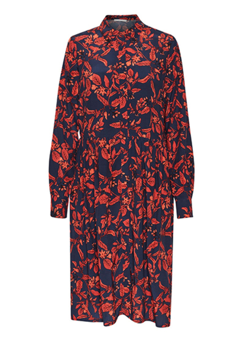 GESTUZ FLORAL PRINTED DRESS