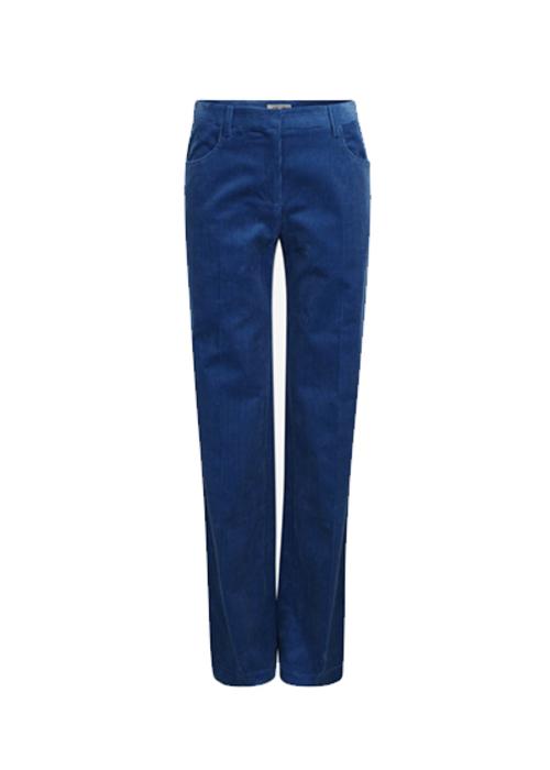 BAUM UND PFERDGARTEN BLUE CORDUROY PANTS