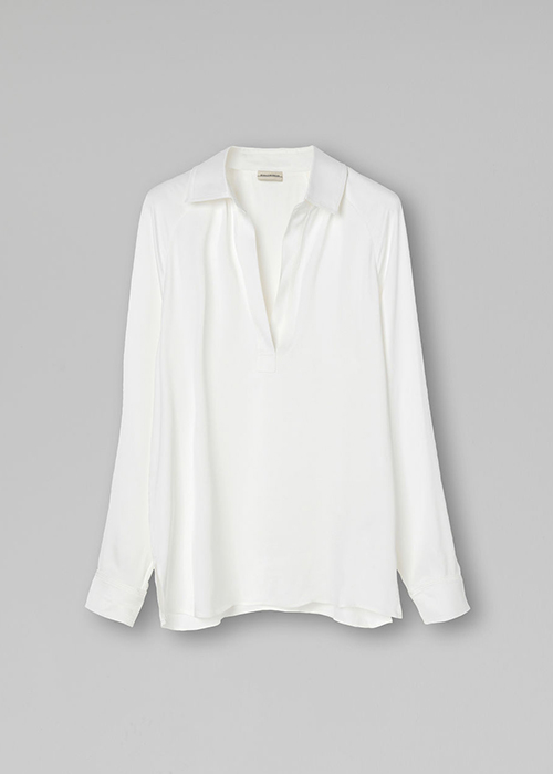 BY MALENE BIRGER WHITE BLOUSE
