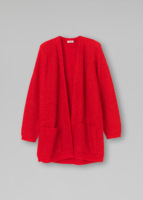 BY MALENE BIRGER RED CARDIGAN