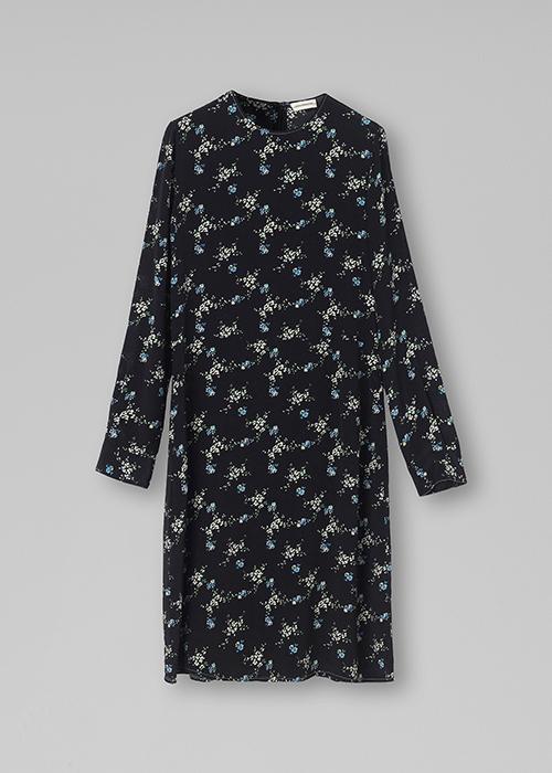 BY MALENE BIRGER BLACK FLOWER DRESS