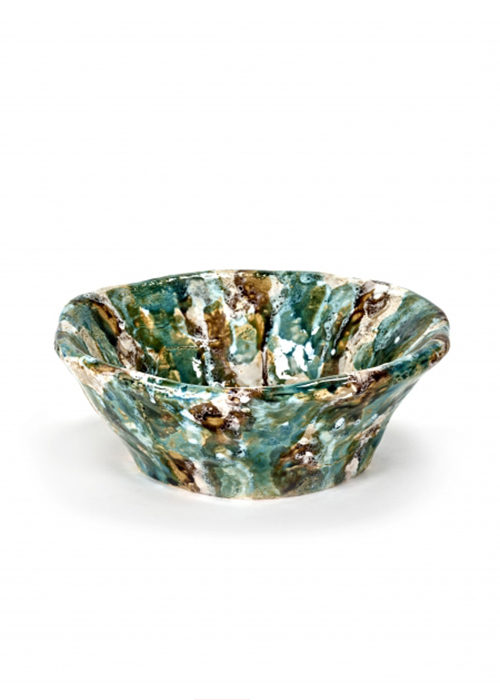 SERAX LARGE GREEN BOWL BELA SILVAZ