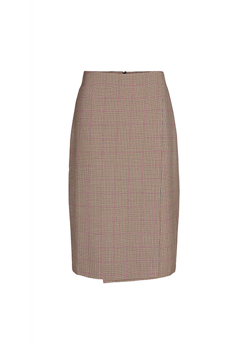 DESIGNERS REMIX CHECKED SKIRT