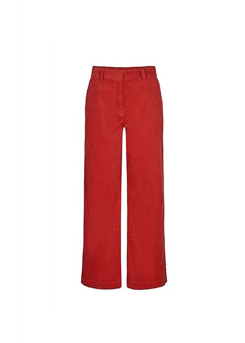 DESIGNERS REMIX RED CORDUROY PANTS