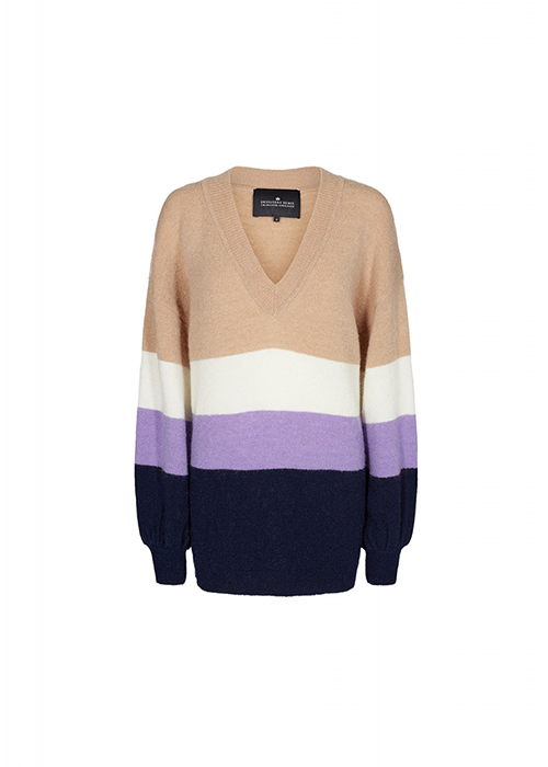 DESIGNERS REMIX MULTI STRIPE KNIT