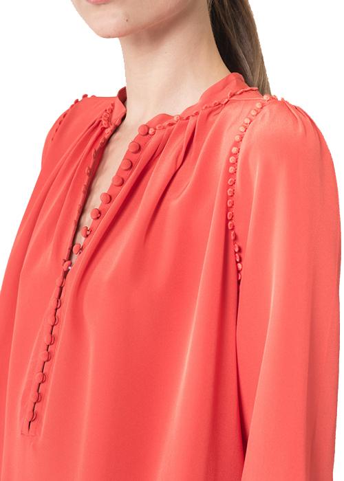 VANESSA BRUNO RED DRESS