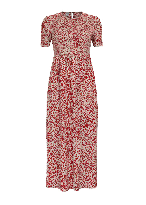 BAUM UND PFERDGARTEN RED PRINTED DRESS
