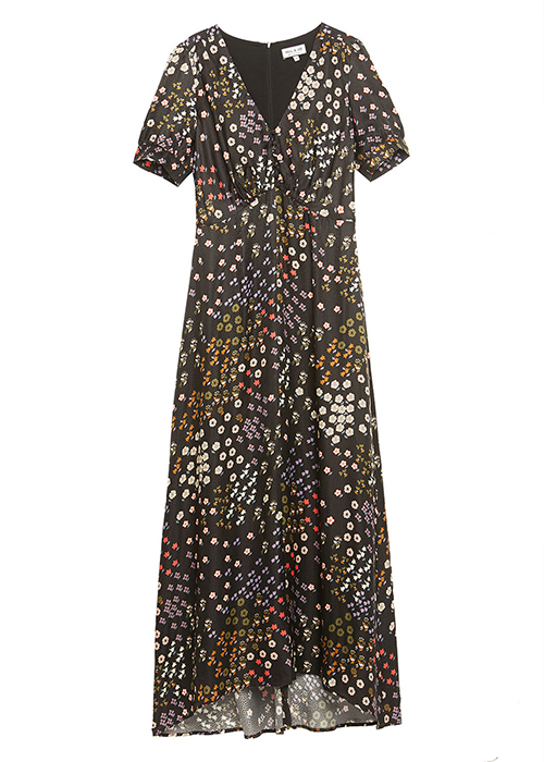 PAUL & JOE LONG FLORAL DRESS