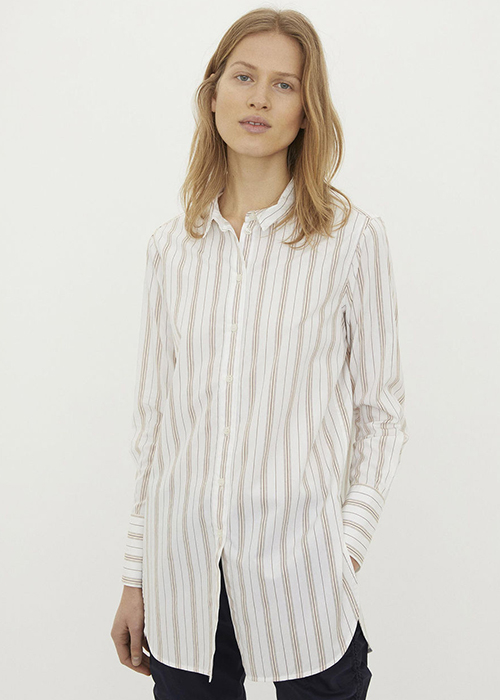 BY MALENE BIRGER STRIPED BLOUSE