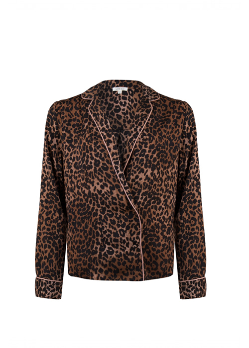 LOVESTORIES LEOPARD BLOUSE