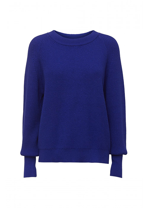 NORR ELECTRIC BLUE SWEATER