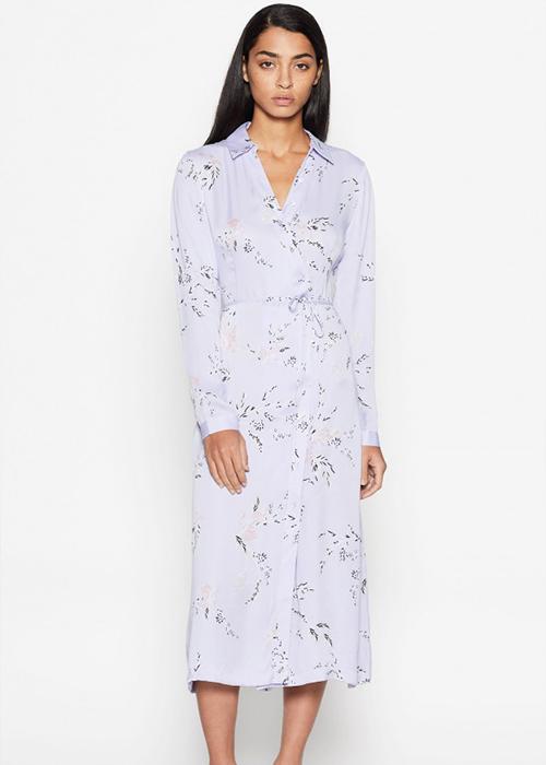 EQUIPMENT LILA FLOWER DRESS