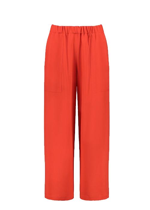 VANESSA BRUNO RED WIDE PANTS