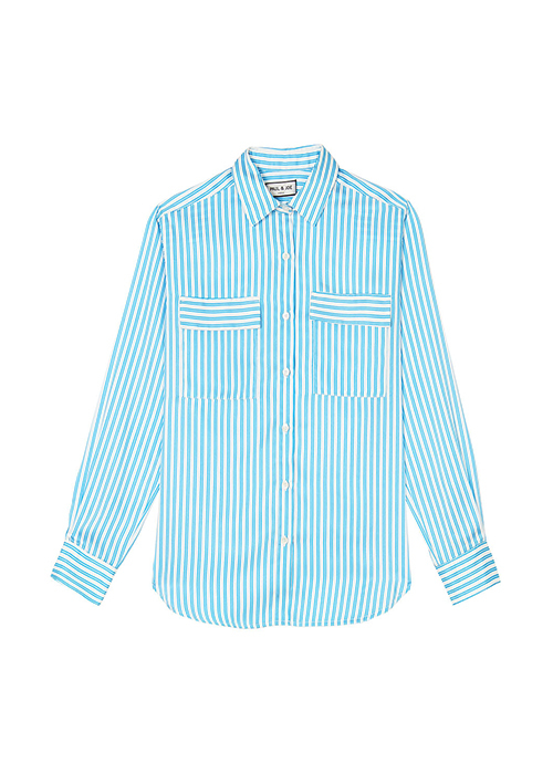 PAUL & JOE STRIPED BLOUSE