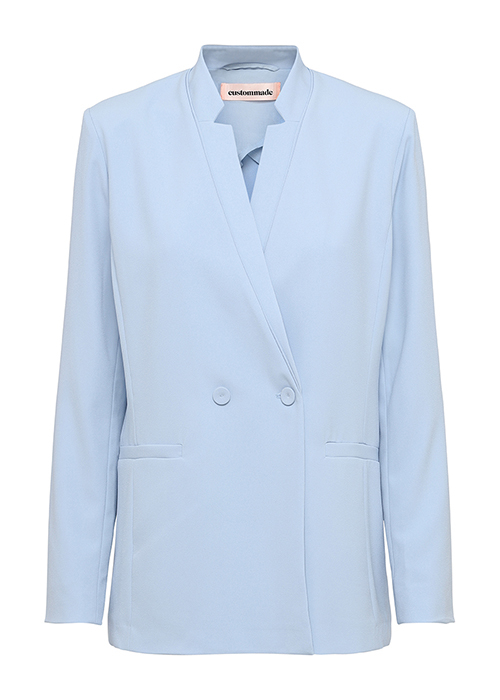 CUSTOMMADE LIGHTBLUE BLAZER