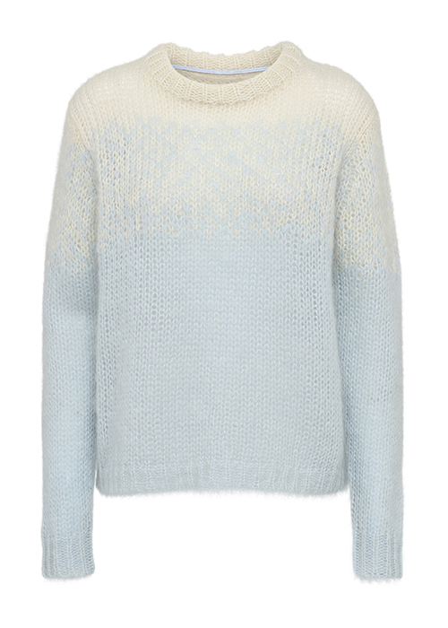 CUSTOMMADE LIGHTBLUE SWEATER