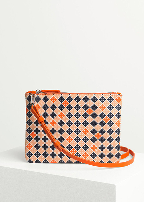 BY MALENE BIRGER ORANGE SHOULDER BAG