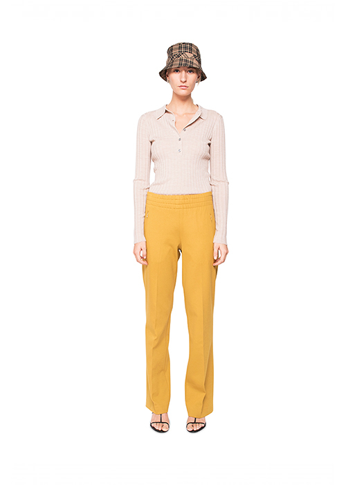GRAUMANN YELLOW JOGGING PANTS