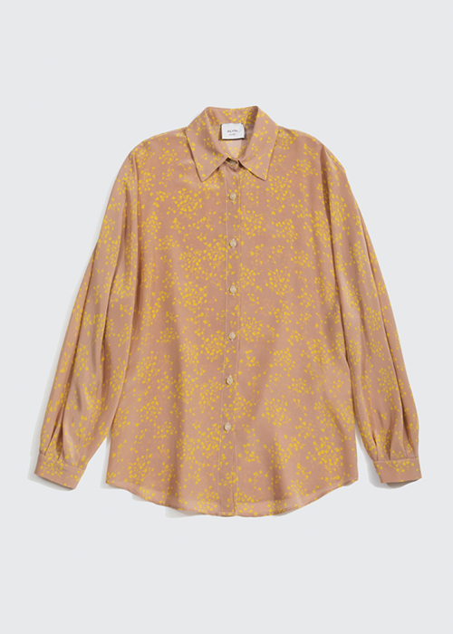 ALYSI PRINTED BLOUSE