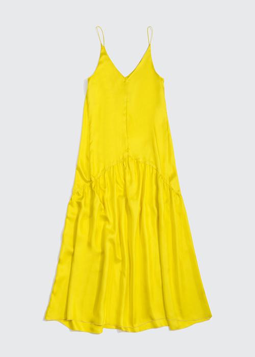 ALYSI YELLOW DRESS