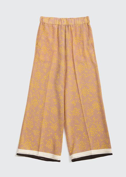 ALYSI FLOWER PANTS