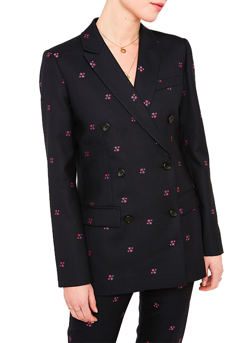 PAUL & JOE FLOWER BLAZER