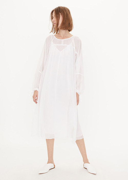 BY MALENE BIRGER WHITE DRESS