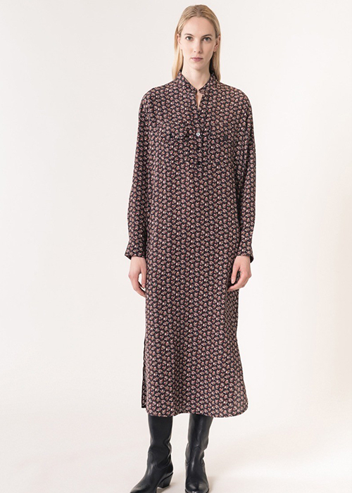 VANESSA BRUNO PRINTED DRESS
