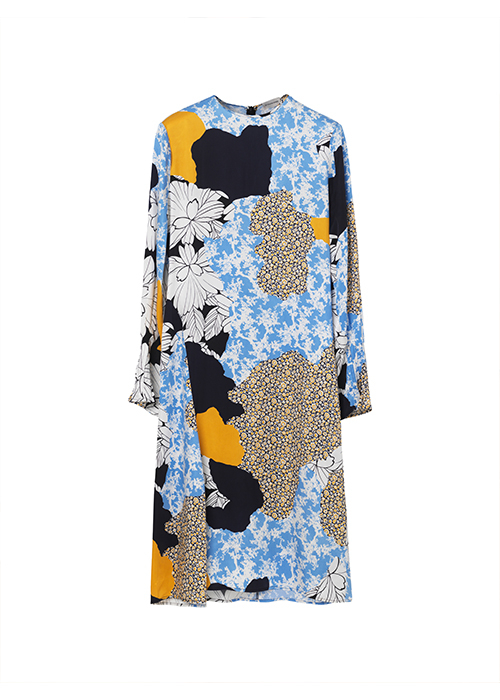 BY MALENE BIRGER MULTI PRINT DRESS