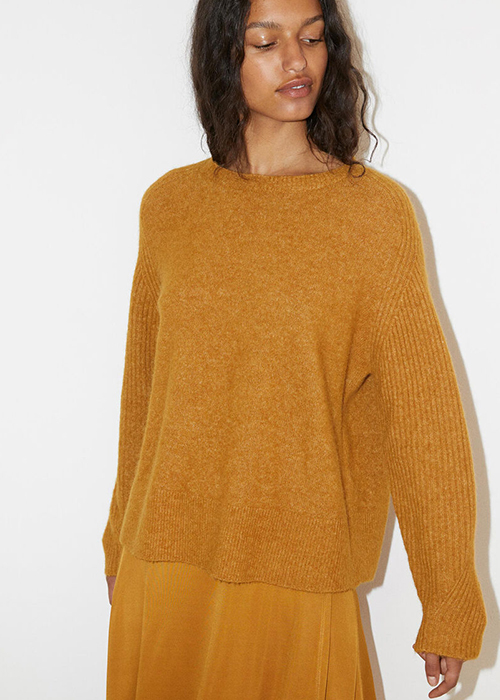 BY MALENE BIRGER TOBACCO PULLOVER